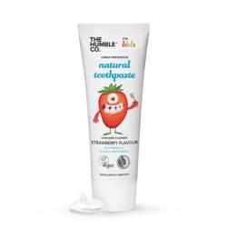 Humble Brush Pasta do zębów dla dzieci truskawkowa z fluorem, 75ml