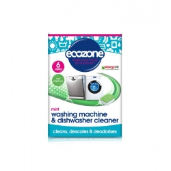 Ecozone Tabletki do odkamieniania oraz czyszczenia pralek i zmywarek, 6 szt.