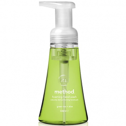 Method, Naturally Derived Foaming Hand Wash, Green Tea plus Aloe, 300ml