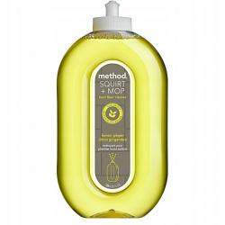 Method Squirt & Mop All Purpose Floor Cleaner Lemon & Ginger, 739ml