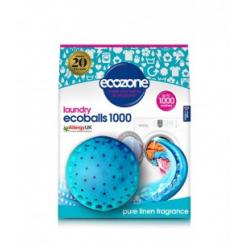 Ecoballs kule piorące na 1000 prań, PURE LINEN, świeży zapach, Ecozone