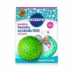 Ecoballs kule piorące na 1000 prań, SENSITIVE, bezzapachowe, Ecozone