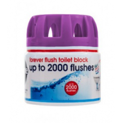 Ekologiczna kostka do toalety Forever Flush INDIGO do 2000 spłukań - kostka do toalety, Ecozone