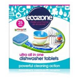 Tabletki do zmywarki ULTRA wszystko w jednym, 25 szt. Ecozone