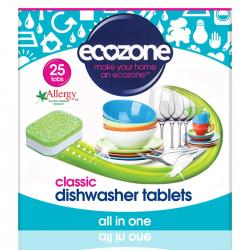 Tabletki do zmywarki CLASSIC wszystko w jednym, 25 szt. Ecozone
