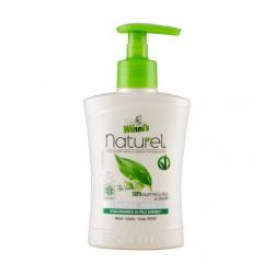 Mydło do mycia rąk i twarzy z ekstraktami organicznymi z zielonej herbaty, brzozy i aloesu, 250 ml, Winni's