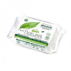 Uniwersalne, nawilżane chusteczki odświeżające z biodegradowalnej bawełny o zapachu zielonej herbaty, 20 szt. Winni's