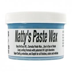 Poorboy's World Natty's Paste Wax Blue - wosk z lakierem