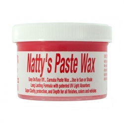 Poorboy's World Natty's Paste Wax Red - wosk z lakierem