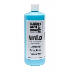 Poorboy's World Natural Look - preparat pielęgnacji plastików