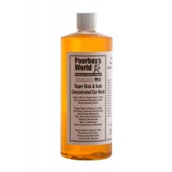 Poorboy's World Super Slick & Suds - skoncentrowany szampon samochodowy o neutralnym pH