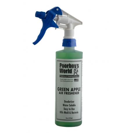 Poorboy's World Air Freshener Green Apple - odświeżacz powietrza o zapachu zielonego jabłka
