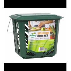 BioBag MaxAir II - Pojemnik na odpady organiczne, do kuchni