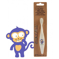 BIO Szczoteczka do Zębów Małpka, Jack N'Jill