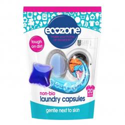 Ecozone Non Bio Laundry Liquid Capsules - kapsułki do prania, 500g