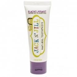 Naturalna, Organiczna pasta do zębów czarna porzeczka 50g Jack n' Jill