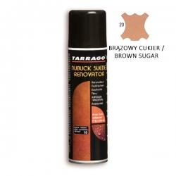 TARRAGO Suede Nubuck Renovator - ożywia i regeneruje naturalny kolor zamszu, nubuku, 250ml