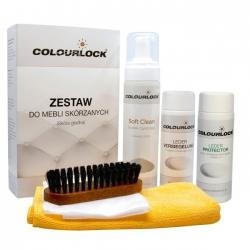 Colourlock Zestaw do czyszczenia mebli skórzanych z mleczkiem pielęgnującym