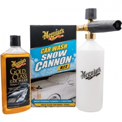 Meguiar's Zestaw do mycia pianownica Car Wash Snow Cannon Kit