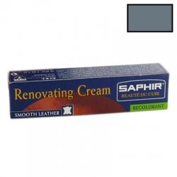 Saphir BDC Renovating Cream - krem do renowacji skóry (zadrapania, przetarcia) nr 16 szary, 25ml