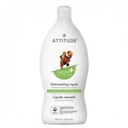 Attitude Płyn do mycia naczyń jabłko i bazylia, 700 ML