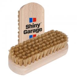 Shiny Garage Leather Brush - Szczoteczka Do Tapicerki Skórzanej
