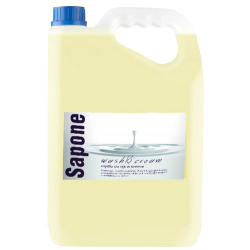 Tenzi Sapone Wash & Creme Mydło w płynie do rąk i ciała kremowe, 5 L