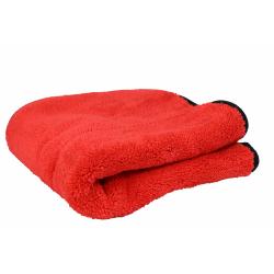 Alplast - Ścierka z mikrofibry 800GSM 40x40 cm - czerwono-szara