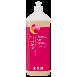 """Eco Sonett - Mydło w płynie """"Róża"""" 1l"""